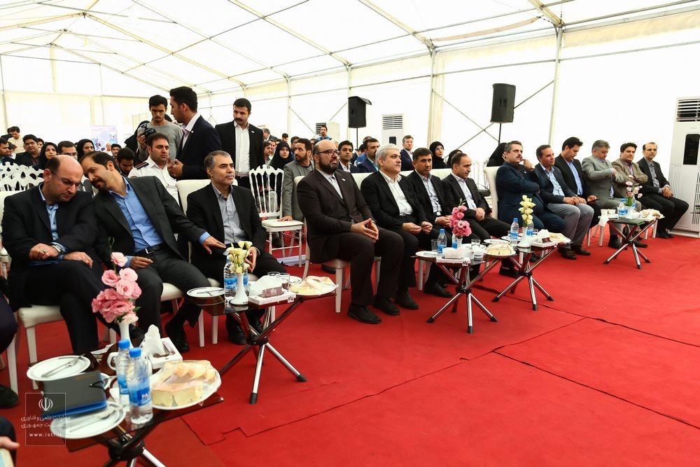 مراسم افتتاح شتابدهنده پایا فن یاخته